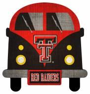 Texas Tech Red Raiders Team Bus Sign