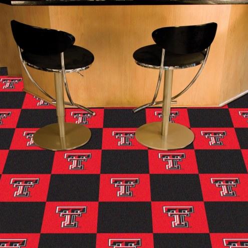 Texas Tech Red Raiders Team Carpet Tiles