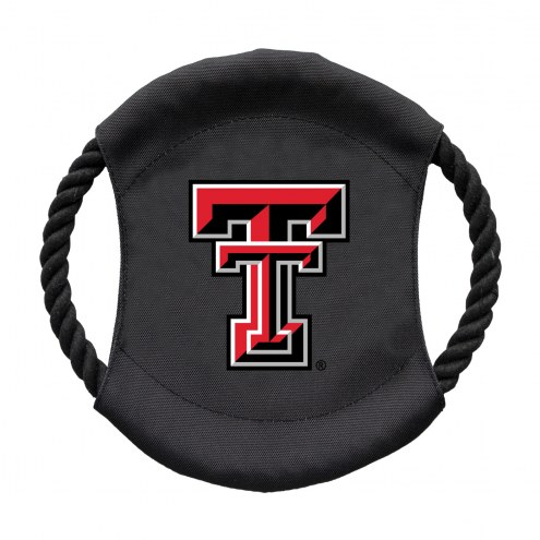 Texas Tech Red Raiders Team Frisbee Dog Toy