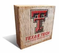 Texas Tech Red Raiders Team Logo Block