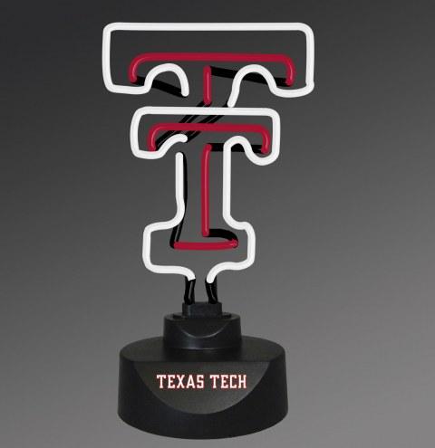 Texas Tech Red Raiders Team Logo Neon Lamp