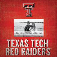 "Texas Tech Red Raiders Team Name 10"" x 10"" Picture Frame"