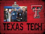 Texas Tech Red Raiders Team Name Clip Frame