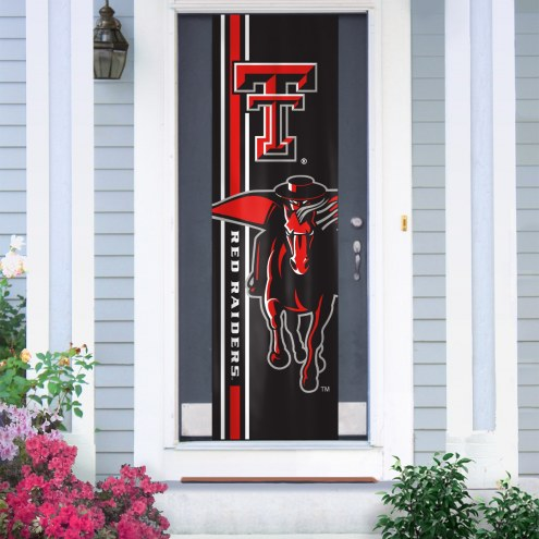 Texas Tech Red Raiders Door Banner