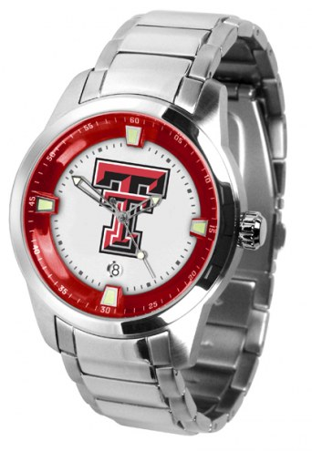 Texas Tech Red Raiders Titan Steel Men's Watch