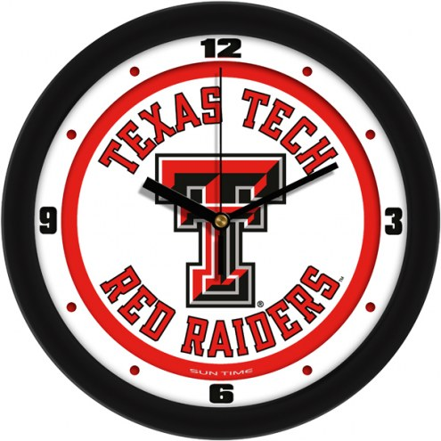 Texas Tech Red Raiders Traditional Wall Clock