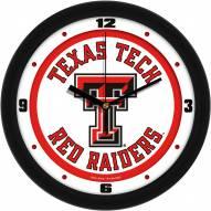 Texas Tech Red Raiders Traditional Wall Clock