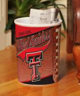 Texas Tech Red Raiders Trash Can
