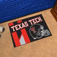 Texas Tech Red Raiders Uniform Inspired Starter Rug