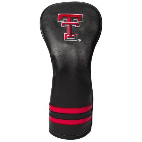 Texas Tech Red Raiders Vintage Golf Fairway Headcover