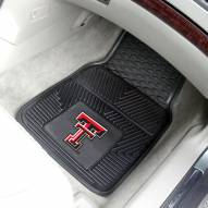 Texas Tech Red Raiders Vinyl 2-Piece Car Floor Mats