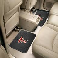 Texas Tech Red Raiders Vinyl 2-Piece Rear Floor Mats