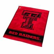 Texas Tech Red Raiders Woven Golf Towel