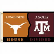 Texas/Texas A&M 3' x 5' House Divided Flag
