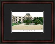 Texas A&M University College Station Academic Framed Lithograph