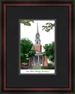 Texas Christian University Academic Framed Lithograph