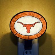 Texas Longhorns NCAA Stained Glass Night Light
