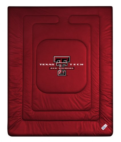 Texas Tech Red Raiders NCAA Twin Jersey Comforter