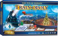 The Polar Express Train Opoly Board Game