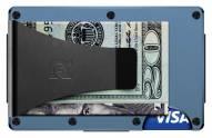The Ridge Titanium Money Clip