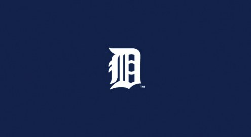 Detroit Tigers MLB Team Logo Billiard Cloth
