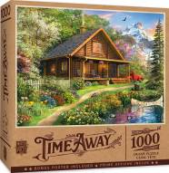 Time Away Mountain Retreat 1000 Piece Puzzle