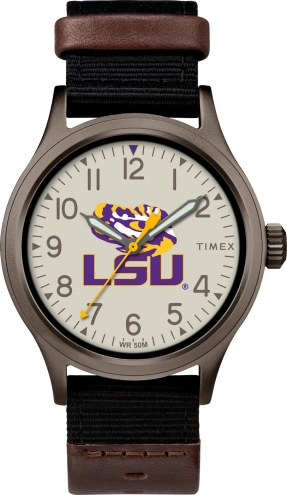 Timex LSU Tigers Men's Clutch Watch