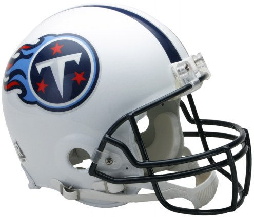 Riddell Tennessee Titans Authentic VSR4 NFL Football Helmet