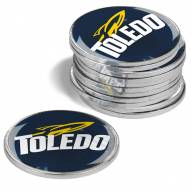 Toledo Rockets 12-Pack Golf Ball Markers