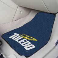 Toledo Rockets 2-Piece Carpet Car Mats