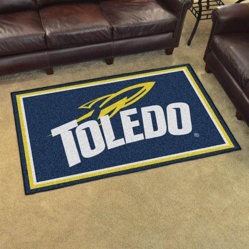 Toledo Rockets 4' x 6' Area Rug