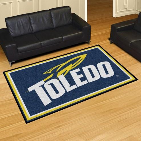 Toledo Rockets 5' x 8' Area Rug