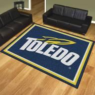 Toledo Rockets 8' x 10' Area Rug