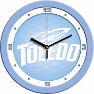 Toledo Rockets Baby Blue Wall Clock