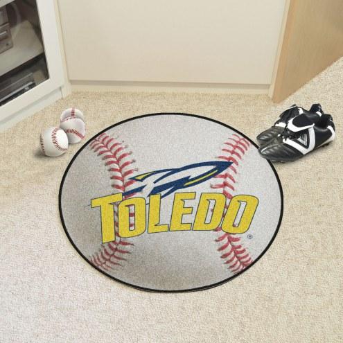 Toledo Rockets Baseball Rug