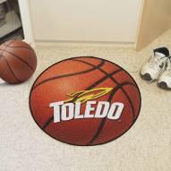 Toledo Rockets Basketball Mat