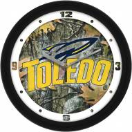 Toledo Rockets Camo Wall Clock