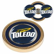 Toledo Rockets Challenge Coin with 2 Ball Markers