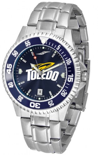 Toledo Rockets Competitor Steel AnoChrome Color Bezel Men's Watch