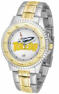 Toledo Rockets Competitor Two-Tone Men's Watch
