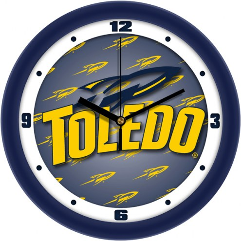 Toledo Rockets Dimension Wall Clock