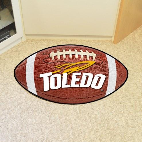 Toledo Rockets Football Floor Mat