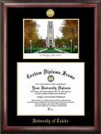 Toledo Rockets Gold Embossed Diploma Frame with Lithograph