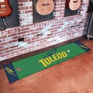 Toledo Rockets Golf Putting Green Mat