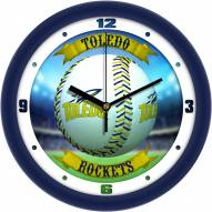 Toledo Rockets Home Run Wall Clock