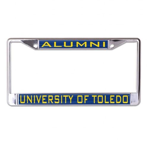 Toledo Rockets Metal License Plate Frame