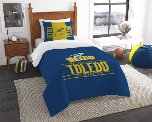 Toledo Rockets Modern Take Twin Comforter Set