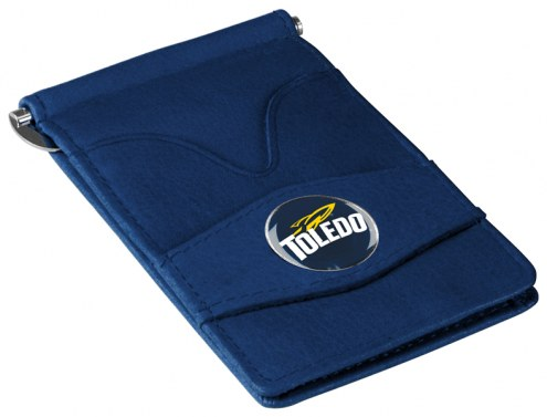 Toledo Rockets Navy Player's Wallet