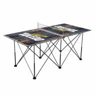 Toledo Rockets Pop Up 6' Ping Pong Table