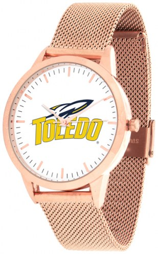 Toledo Rockets Rose Mesh Statement Watch